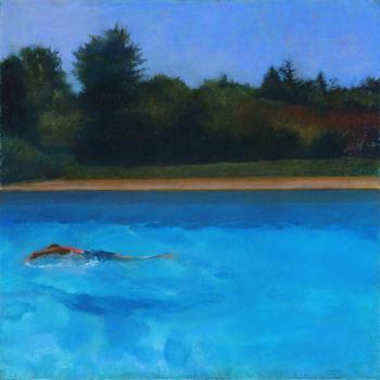 Swimmer - Paula Gach Moskowitz