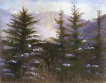 Vail Trees - Paula Gach Moskowitz