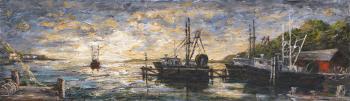 Blue Docks - Terrence Joyce