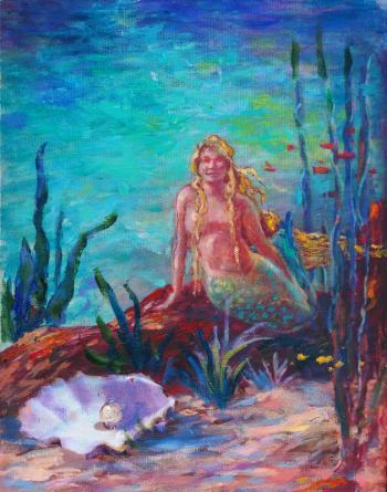 Mermaid Study 2 - Terrence Joyce
