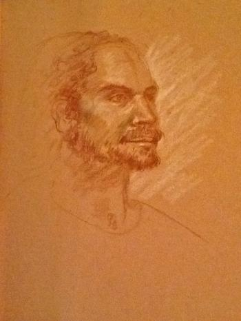 Christ Sketch - Terrence Joyce