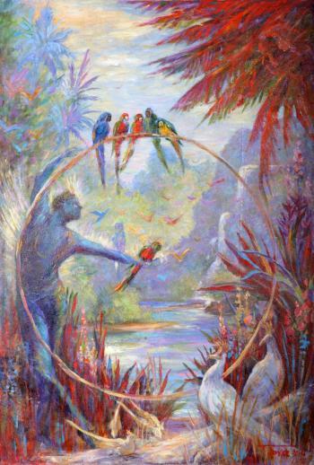 Shiva's Pond - Terrence Joyce