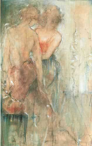 Study of Dancers IV - JANET TREBY