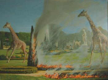 Giraffes, 2008 - KUZNETSOV ANTON / АНТОН КУЗНЕЦОВ
