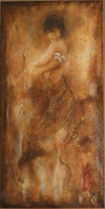 Serigraph on canvas