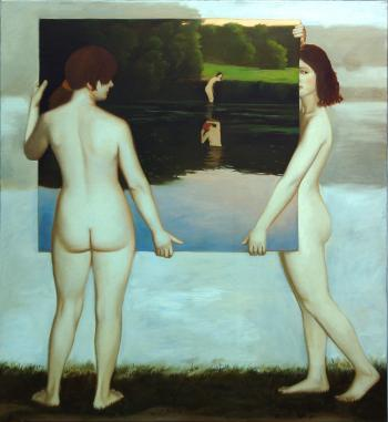 Landscape with Bathers, 2007 - KUZNETSOV ANTON / АНТОН КУЗНЕЦОВ