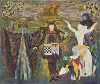 Tapestry, 1972 - MESHBERG LEV / ЛЕВ МЕЖБЕРГ