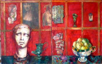 Museum (diptych), 1993 - DULFAN LUCIEN / ЛЮСЬЕН ДЮЛЬФАН