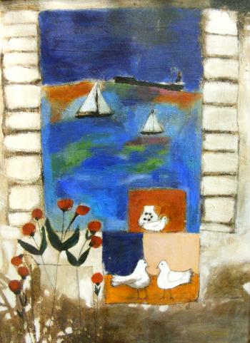 Aegean Window - LEO McDOWELL
