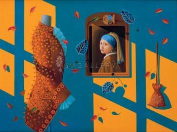 Homage to Vermeer, 2001 - TULPANOFF IGOR / ИГОРЬ ТЮЛЬПАНОВ