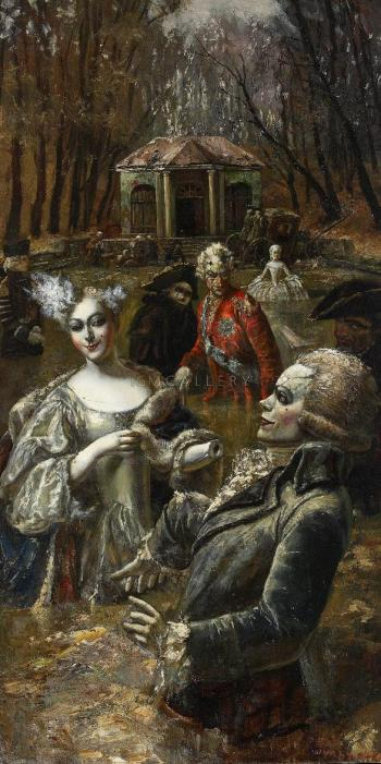 Neskuchny sad (Dolls), 2003 - SHULZHENKO VASILY / ВАСИЛИЙ ШУЛЬЖЕНКО