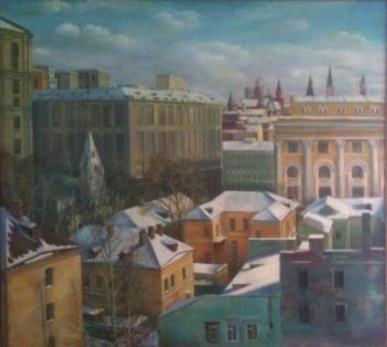Winter Landscape, 1989 - NAZARENKO TATYANA /ТАТЬЯНА НАЗАРЕНКО