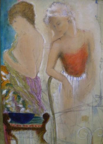 Study of Dancers II - JANET TREBY