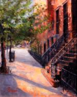 Summer on West 19th Street, New York City