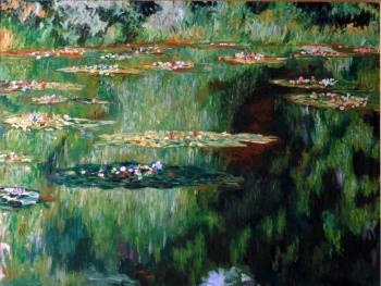 After Monet - Joseph Palazzolo