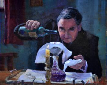 Filtering the Wine - Joseph Palazzolo