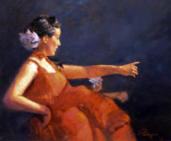 Flamenco Dancer - Joseph Palazzolo