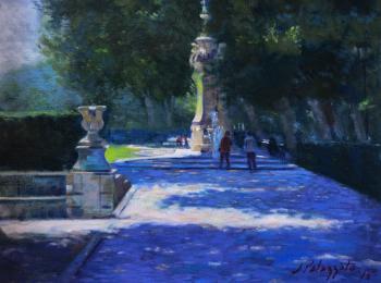 Along Paseo del Prado, Madrid - Joseph Palazzolo