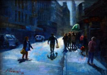 Mott Street, Chinatown, NYC - Joseph Palazzolo