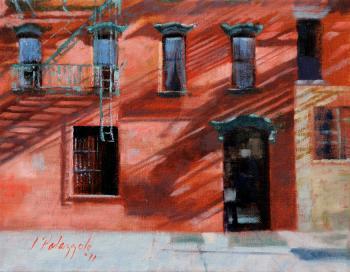Off Prince Street - Joseph Palazzolo