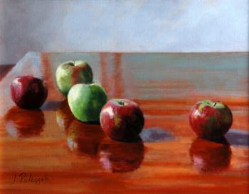 Study In Red & Green - Joseph Palazzolo