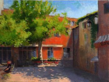 Tuscan Courtyard - Joseph Palazzolo