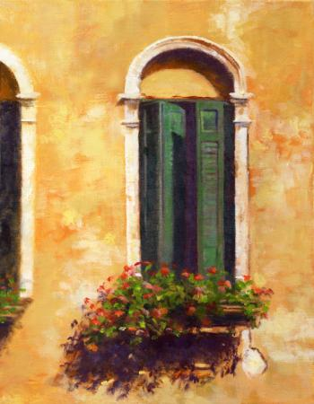 Venetian Window - Joseph Palazzolo