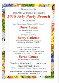 Arty Party Invite 2018