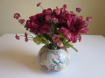 Burgundy Floral Arrangement - Sold Items
