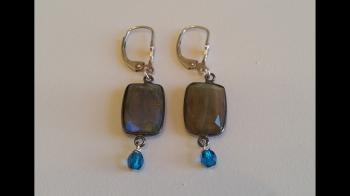 Custom Labradorite Dangle Earrings - Sold Items