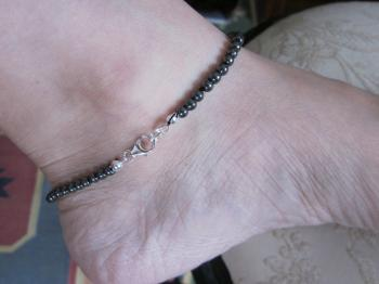 Hematite Ankle Bracelet - Sold Items