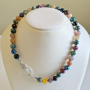 Botswana Agate Necklace - Sold Items