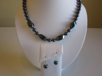 Hematite Demi Parure - Sold Items