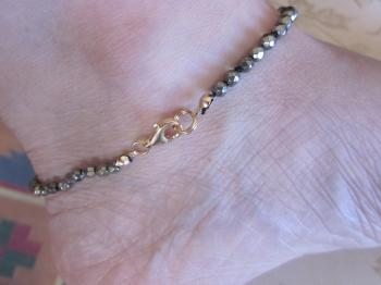 Pyrite Ankle Bracelet - Sold Items