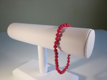 Red Coral Bracelet - Bracelets