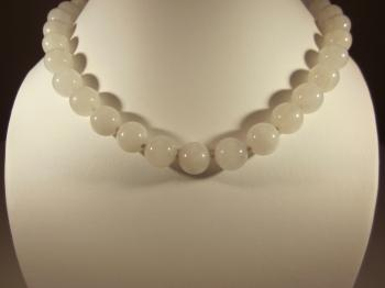 White Quartz Necklace - Sold Items