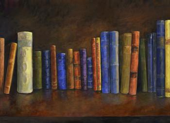 Books-36x26 - Marsha Tarlow Steinberg