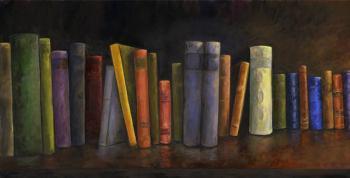 Books-51x26-panel1 - Marsha Tarlow Steinberg