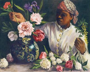 Flower Maid - Marsha Tarlow Steinberg