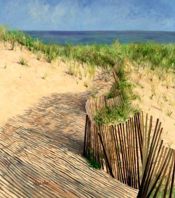 Hampton Beach - Marsha Tarlow Steinberg