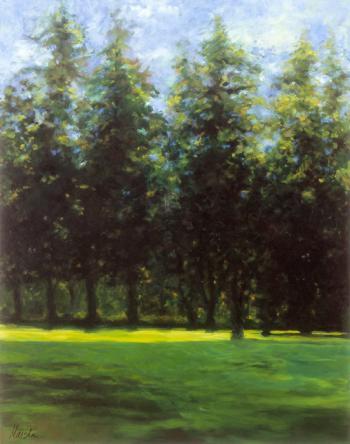 My Pine Trees - Marsha Tarlow Steinberg