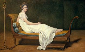 Madame Recamier apres David - Marsha Tarlow Steinberg