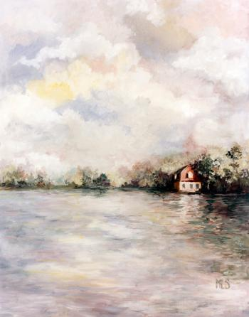 House on the Lake - Marsha Tarlow Steinberg
