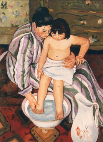 The Bath apres Mary Cassett - Marsha Tarlow Steinberg