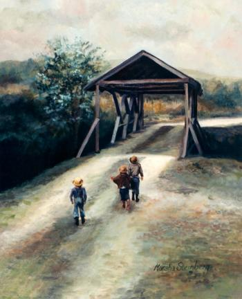Three Friends - Marsha Tarlow Steinberg
