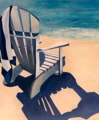 Beach Chair - Marsha Tarlow Steinberg