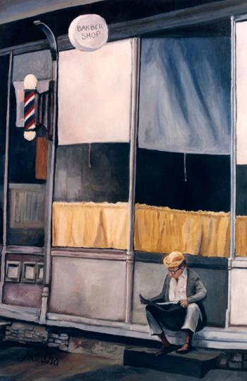 Barber Shop - Marsha Tarlow Steinberg