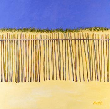 Rainbow Fence - Marsha Tarlow Steinberg