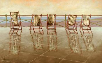 Brighton Promenade - Marsha Tarlow Steinberg
