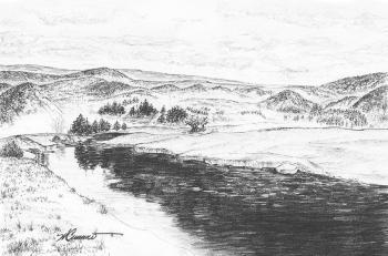 River Landscape - Michael Cummo